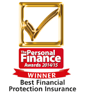 helpucover.co.uk voted Best Financial Protection Insurance by Personal Finance award 2014/15